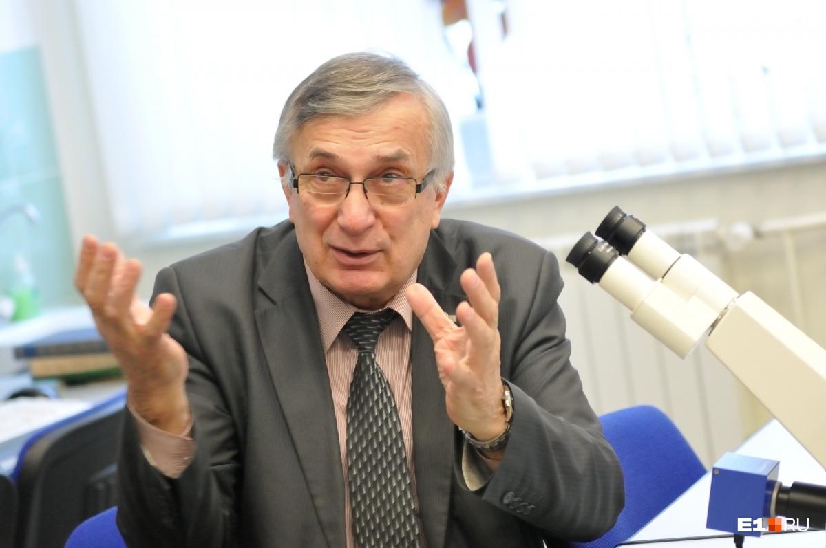 Виктор Гроховский —главный по метеоритам на Урале