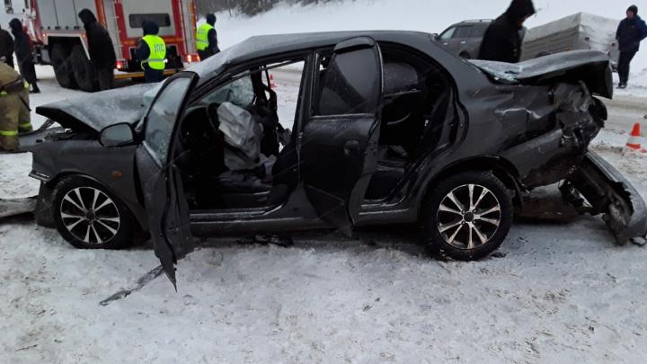 В Сети появилось видео со смертельным ДТП на трассе М-8 с участием жителя Архангельской области