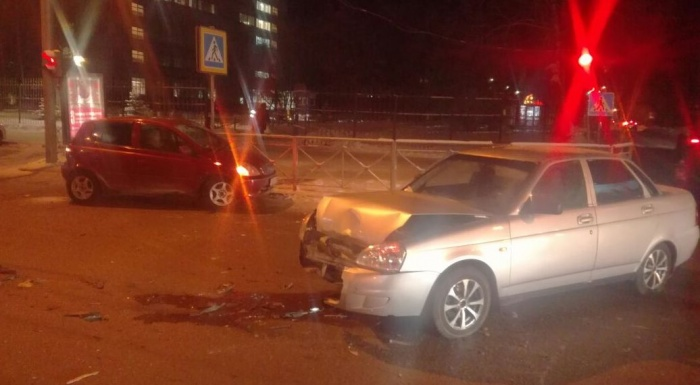 Авария произошла в 18:40