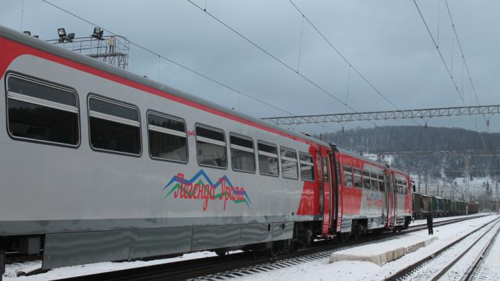 «Легенда Урала» едет дальше: туристическому поезду в Башкирии продлили маршрут