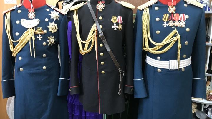 В музее смерти появился мундир адъютанта императора