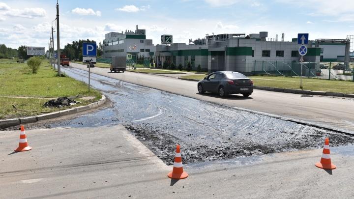 Мэр Ярославля нагрянул в выходной с проверкой к дорожным рабочим: фотоотчёт от главы города