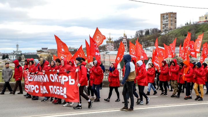 Видео дня. Как нижегородские коммунисты боролись со стихией