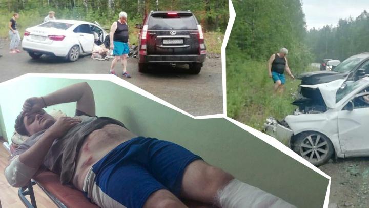 «Обкололи всего в путь-дорогу»: раненому в аварии с Андреем Косиловым удалось избежать операции