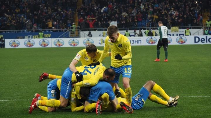 Игру ФК «Ростов» с тульским «Арсеналом» перенесли с 11 на 10 марта