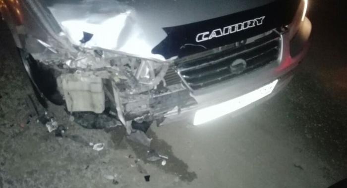 Авария произошла в 21:00