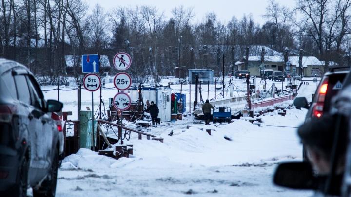 В Архангельске отремонтировали и открыли переправу на Бревенник