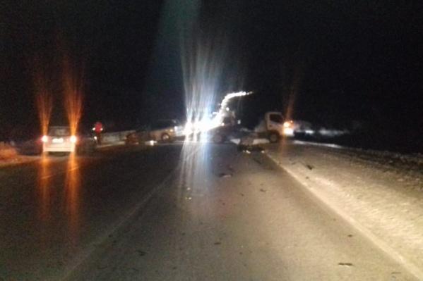Водитель «Газели» не увидел мужчину из-за плохой освещённости трассы