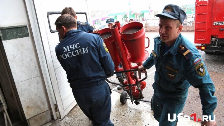 Ночной пожар в Башкирии: эвакуировали шесть человек, из них двое — дети
