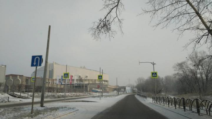 На дороге до «Белых рос» по Ярыгинскому проезду делают освещение