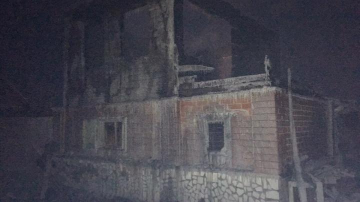 В Кургане при пожаре в СНТ «Газовик» погиб 62-летний пенсионер