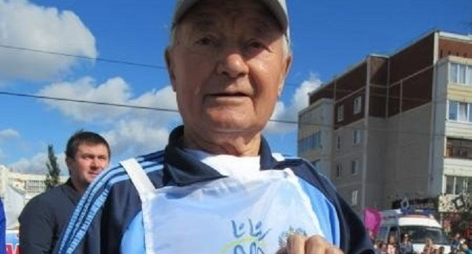 89-летний уральский пенсионер получил золотой значок ГТО