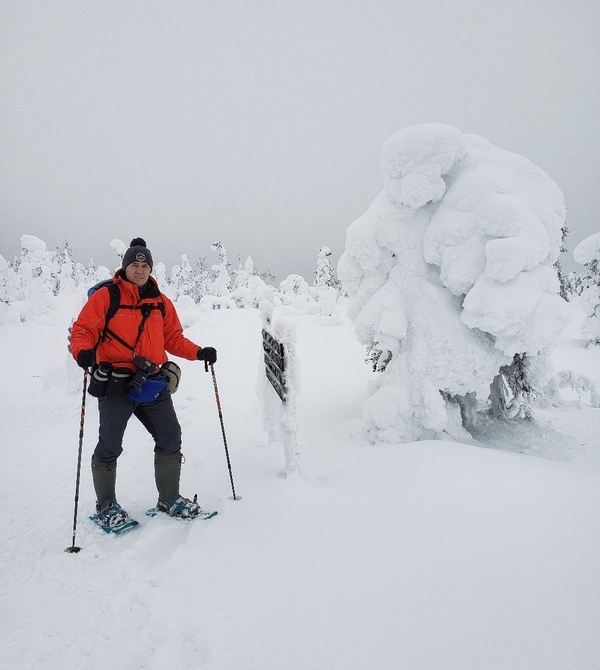 Северная погода капризничала: было не очень холодно — до -10 по ночам, но снег сменялся дождем