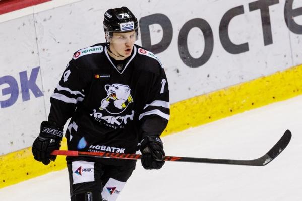 В августе Виталий Кравцов выступал за молодёжную сборную России