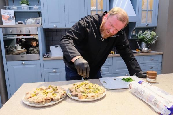 Шеф-повар Константин Ивлев приезжал в Пермь этой весной