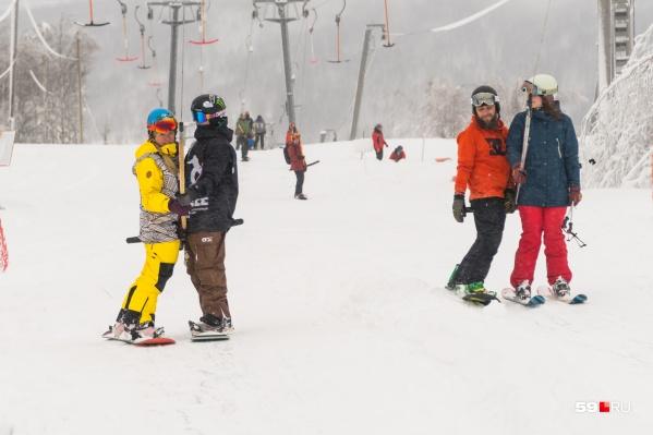 С 7 декабря в Губахе открылся горнолыжный сезон