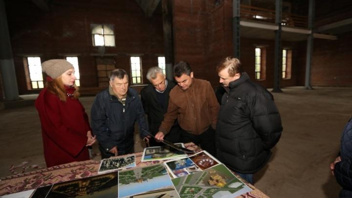 Рядом с Воскресенским собором в Уфе создадут парк