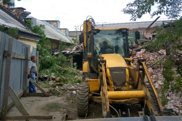 Столетний дом снесли незаконно