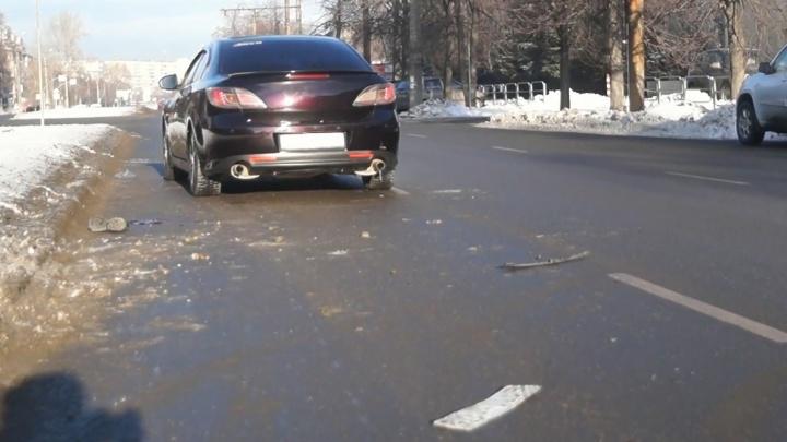 «Выбежал из-за маршрутки»: челябинец, перебегавший дорогу возле «зебры», погиб под колёсами иномарки
