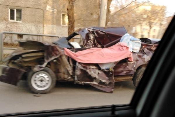 Машина осталась на дороге до утреннего часа пик