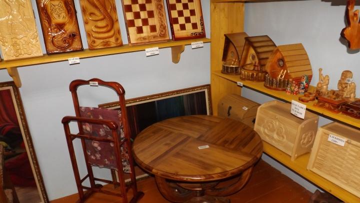 Эксклюзивные сувениры из-за решётки: в Ныробе открылся магазин товаров, сделанных заключенными