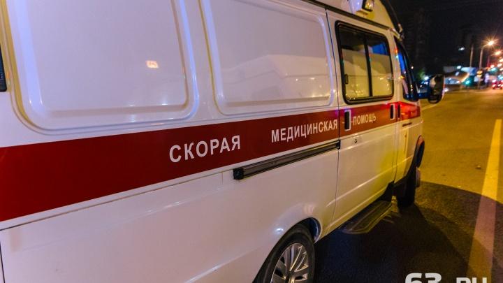 В Тольятти в ночном столкновении иномарки и автобуса пострадало 5 человек