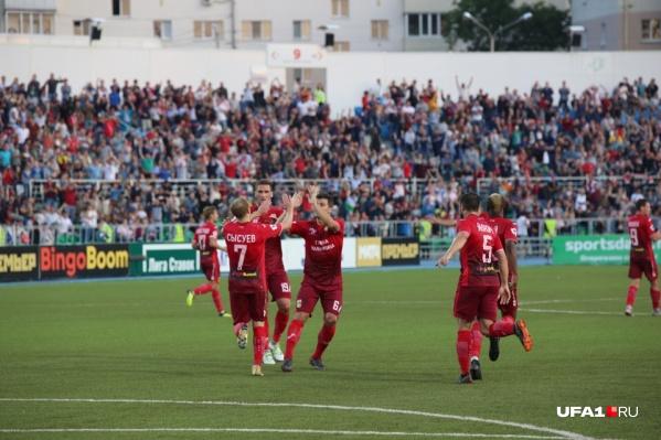 В последний раз «Уфа» обыгрывала «Арсенал» в позапрошлом сезоне