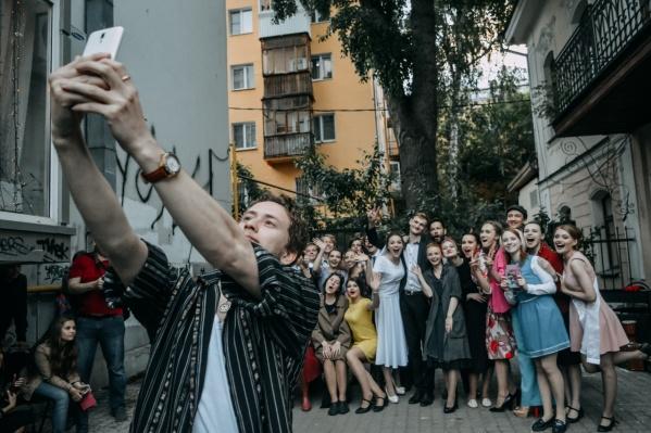 Партнеры фестиваля позаботились о ярких фотозонах