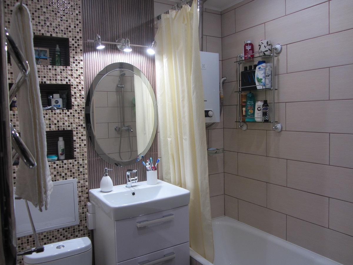 каждый сантиметр в дело ванная комната в хрущевке