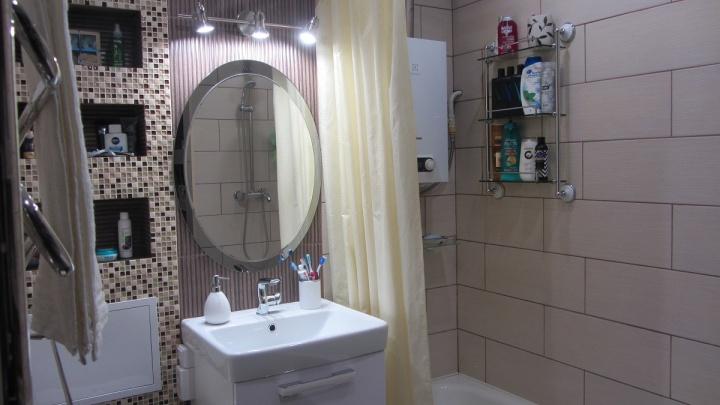 Каждый сантиметр — в дело: ванная комната в хрущевке