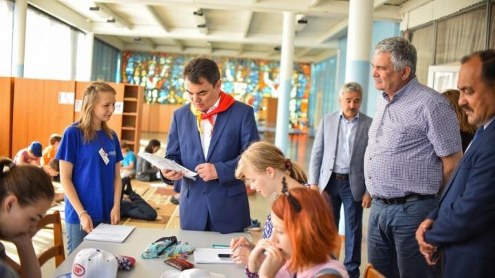 Ирек Ялалов остался доволен состоянием туалетов в детских лагерях