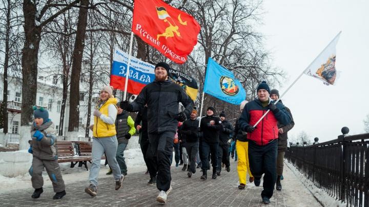 Более 400 ярославцев приняли участие в трезвом забеге