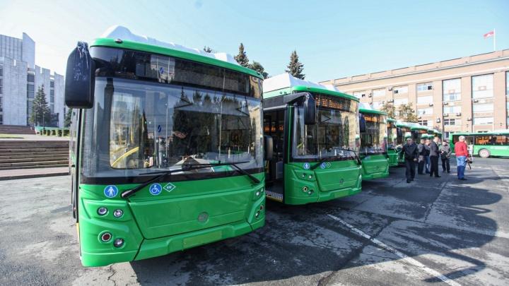 В челябинской мэрии рассказали, когда и на какой маршрут выведут новые автобусы