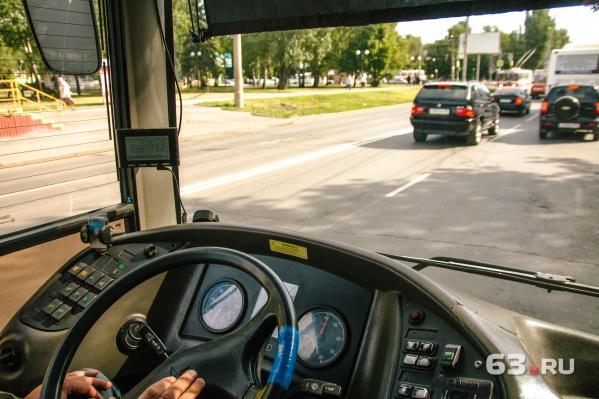 На маршруте №50 работают 20 автобусов