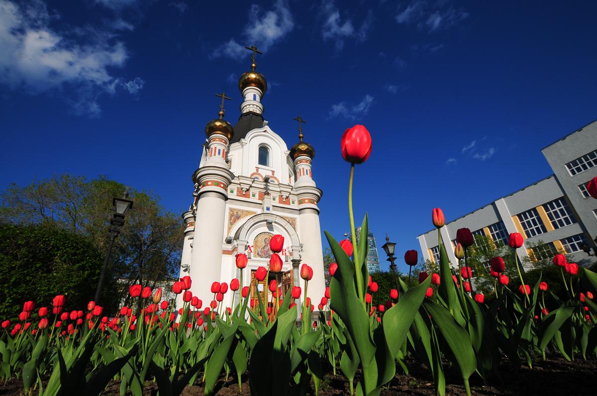 На месте снесённого в 30-е годы собора поставили часовню