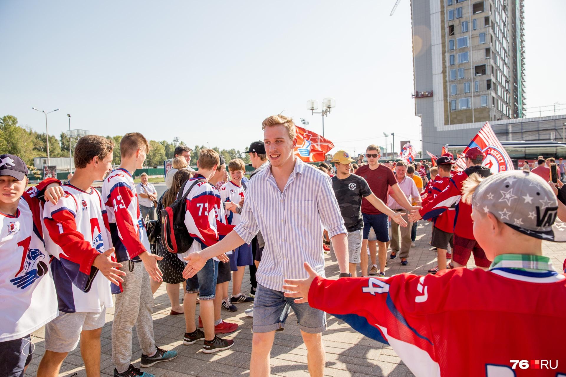 Победители Кубка вернулись в Ярославль
