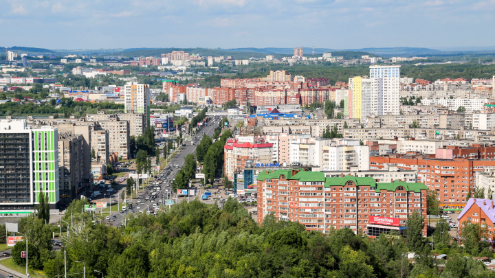 Город на семи холмах: рассказываем, где можно посмотреть на Уфу с высоты птичьего полета