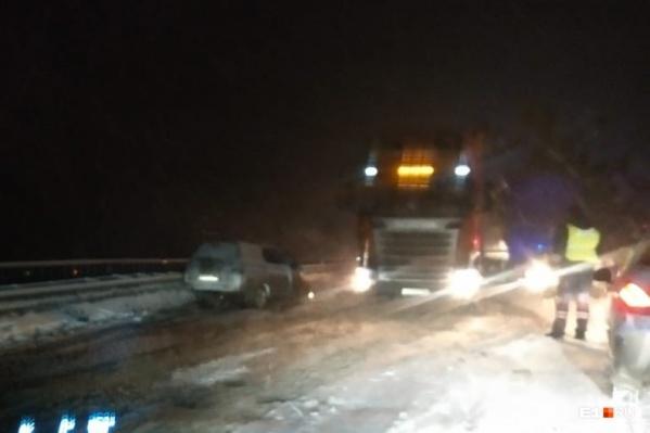 Серьезное ДТП произошло недалеко от Дружинино