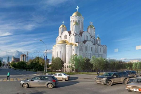 Читатели E1.RU считают, что храм нужно построить на пустыре Фурманова — Белинского
