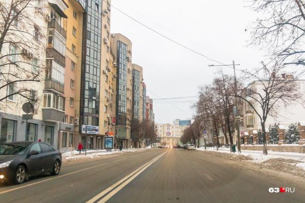 Движение ограничат на нескольких участках Молодогвардейской