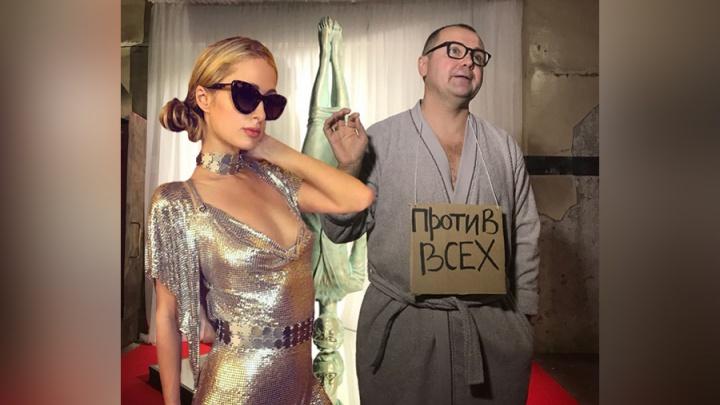 Клубная столица в СПб: экс-мэр Архангельска Донской вместе с Пэрис Хилтон откроет ночное заведение