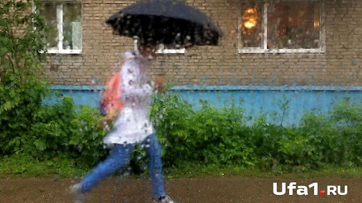 На Башкирию надвигается штормовой ветер и грозы