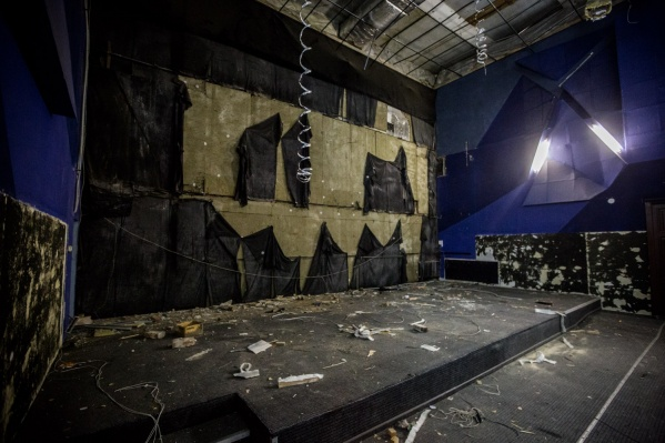 Будущий зал театра Афанасьева на 250–300 мест