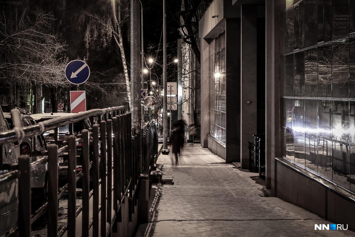 Всё случилось на безлюдной улице в один из февральских вечеров