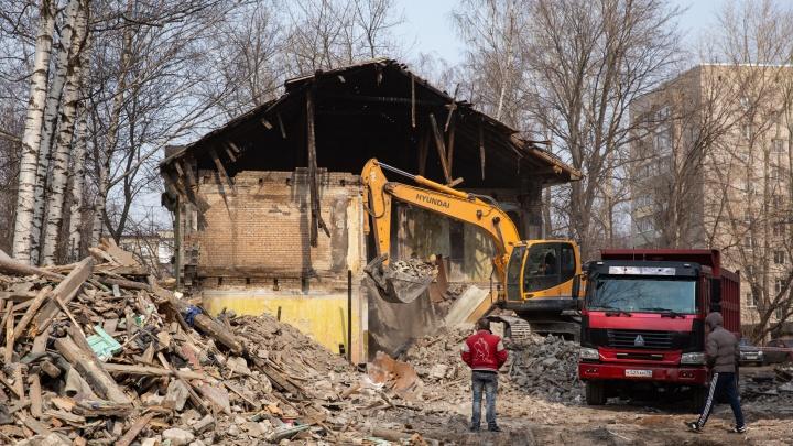 «Район будет не узнать»: в Ярославле сносят старые дома под застройку