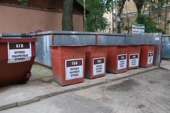 Также адреса размещения контейнерных площадок соберут в единый реестр