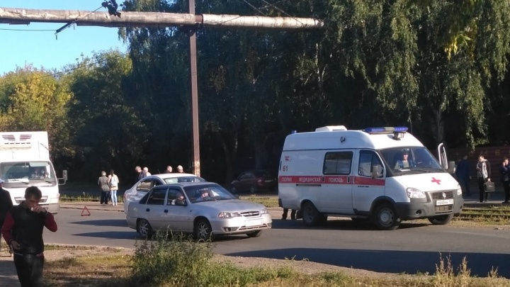 В Уфе на «зебре» сбили пешехода