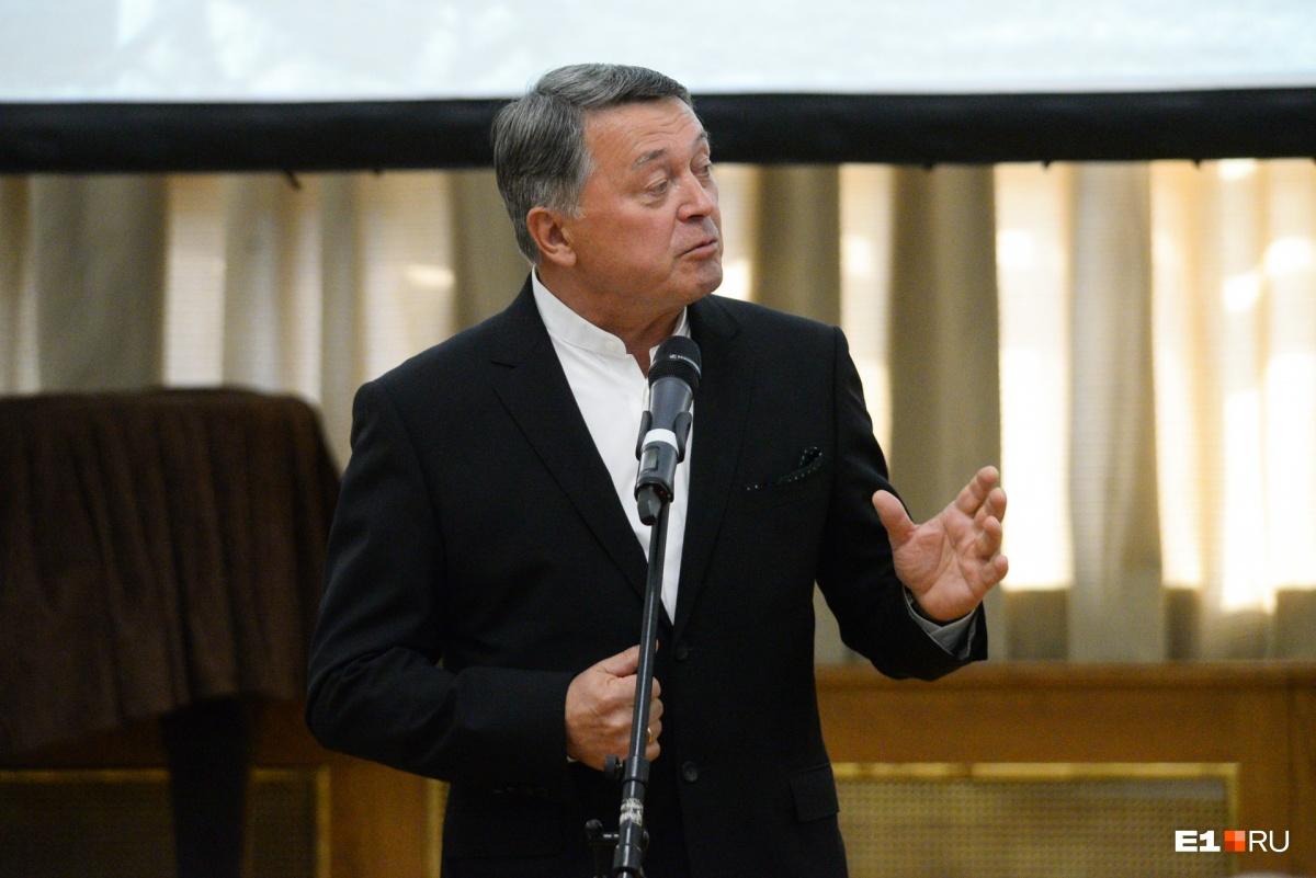 Председатель Градостроительного совета (который недавно упразднили) Михаил Вяткин