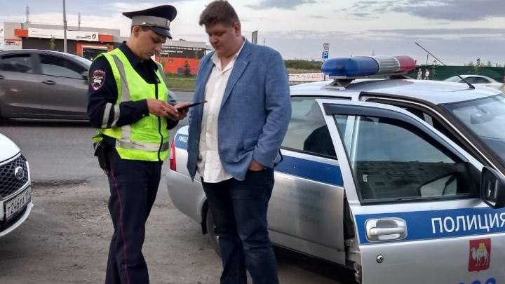 Челябинец, разбивший парковку на «адском» BMW, попал в больницу и стал фигурантом уголовного дела