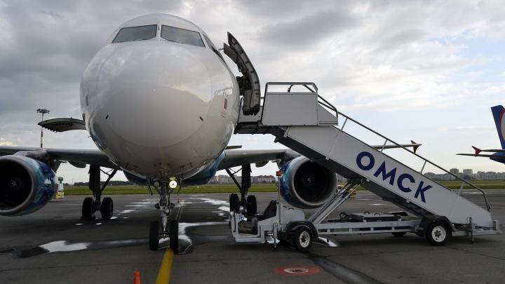 Московская авиакомпания открыла рейсы в Омск за 4,5 тысячи